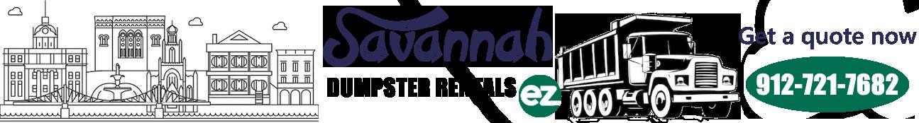 Savannah Dumpster Rentals EZ